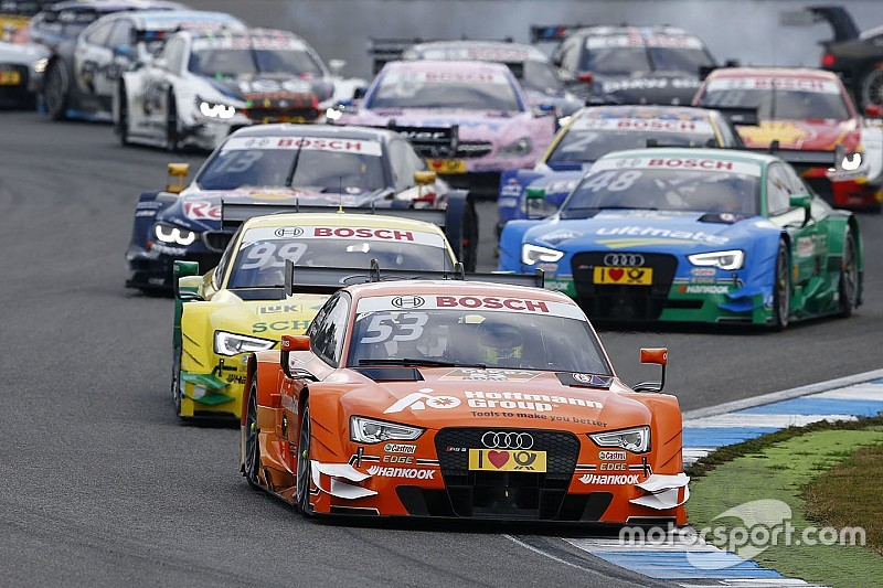 One-two-three win for Audi in the DTM finale