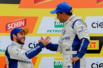 Saindo dos pits na corrida 1, Max Wilson se alegra com vitória