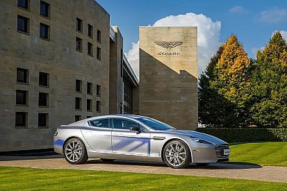Aston Martin dévoile son concept RapidE électrique