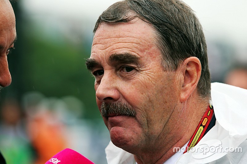 """Mansell ironiza F1 atual: """"carros são mais fáceis de guiar"""""""
