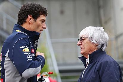 """Webber - """"Les pilotes ont beaucoup de respect pour Ecclestone"""""""