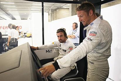 """Button: I hope Alonso """"annihilates me"""""""