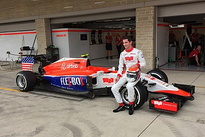 Rossi's car gets Stars and Stripes treatment for Austin