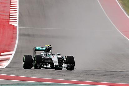 Austin, Libere 1: Rosberg fa il vuoto sul bagnato