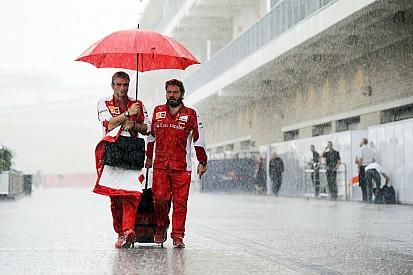 "US GP: FP2 delayed ""indefinitely"" due to lightning threat"