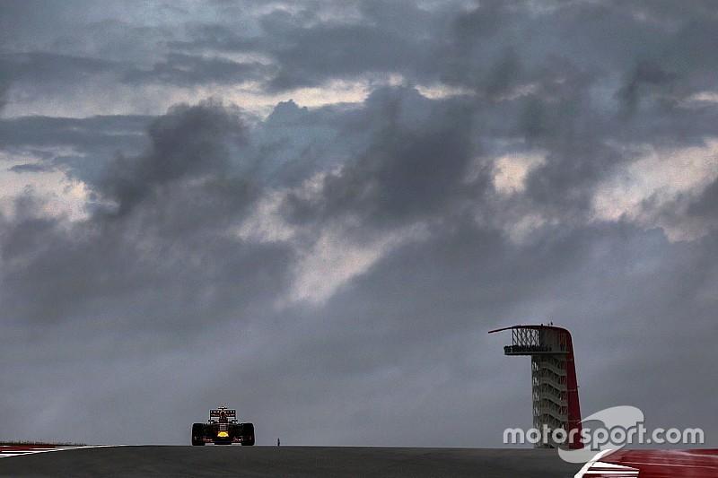 美国大奖赛:赛会干事商讨预案应对恶劣天气