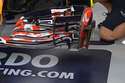 """Red Bull: sull'ala anteriore appare il """"marciapiede"""""""