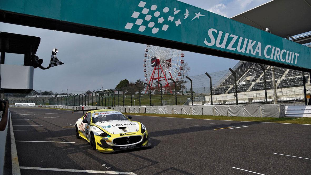Vittoria di Ragazzi in gara 1 a Suzuka