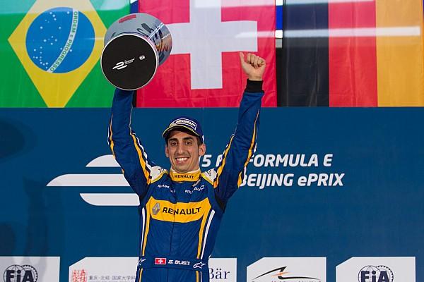 Formule E Buemi wint eenzame Formule E-race in Peking