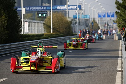 Team ABT starts Formula E season with podium finish