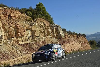 WRC Spanje, dag 2: Ogier domineert en pakt een minuut