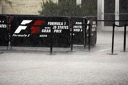 Por furacão, Fórmula 1 adia classificação para manhã de domingo