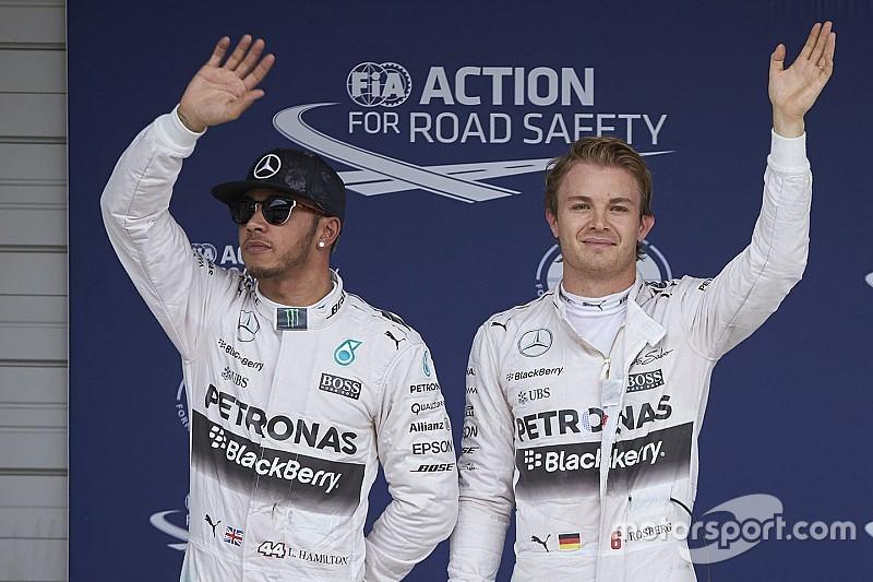 В Mercedes не будут применять командную тактику