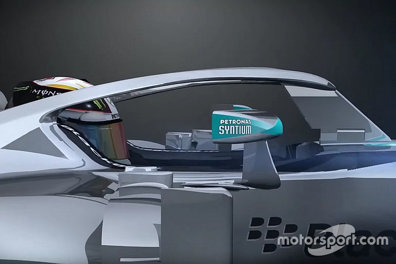 Three closed cockpit F1 designs to be tested next month