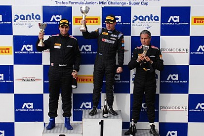 Mini Challenge: Rangoni vince Gara 1