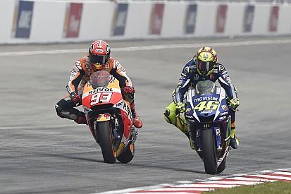 """Valentino Rossi - """"Je n'ai pas poussé Márquez avec le pied"""""""