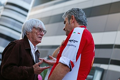 "Ecclestone accuses Ferrari, Mercedes of ""asset protection"""