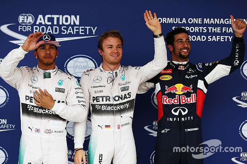 US GP: Rosberg takes pole as Q3 gets washed out