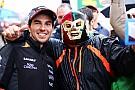 Sergio Pérez ya piensa en el Gran Premio de México