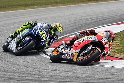 Как отреагировали гонщики на инцидент между Росси и Маркесом