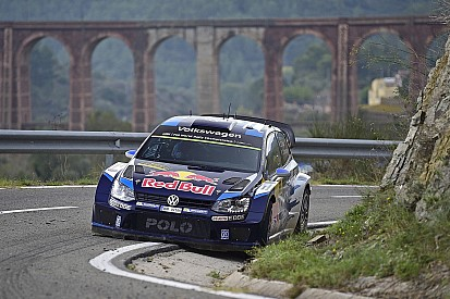 """Ogier rues """"stupid mistake"""" after crashing out of Rally Spain"""