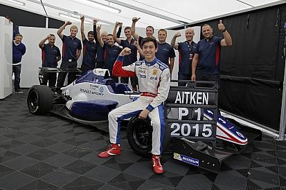 Champion d'Eurocup, Jack Aitken vise la F3.5 et le GP3 pour 2016