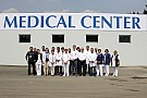 Quedó instalado el centro médico en el Autódromo Hermanos Rodríguez