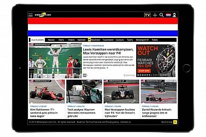 موتورسبورت.كوم يطلق نسخته الإلكترونية الهولندية
