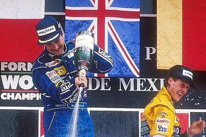 Baú do GP do México: 1º pódio de Schumi e susto de Senna