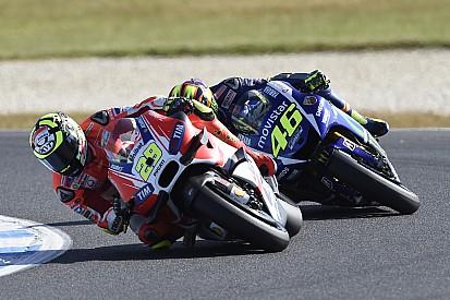 Iannone soutient Rossi, mais promet de faire sa course