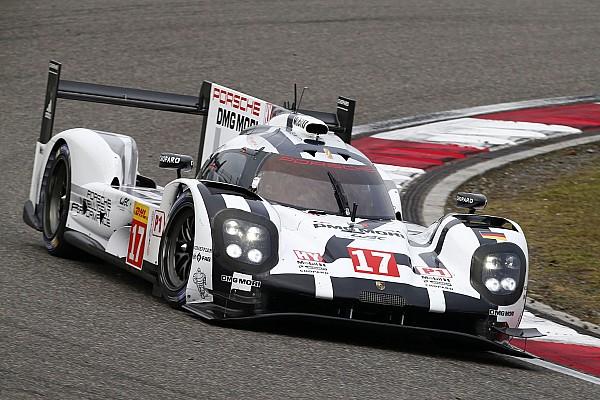 WEC Schanghai: Porsche mit Mark Webber im Training vorn