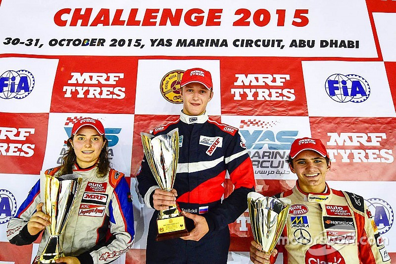Abu Dhabi MRF Challenge: Troitskiy wins as Reddy and Calderon clash