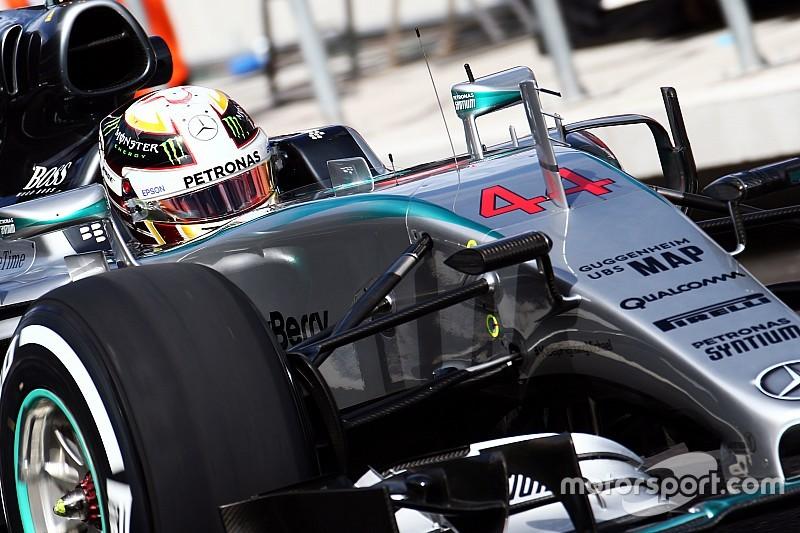 EL1 - Les freins Mercedes souffrent à 360 km/h!