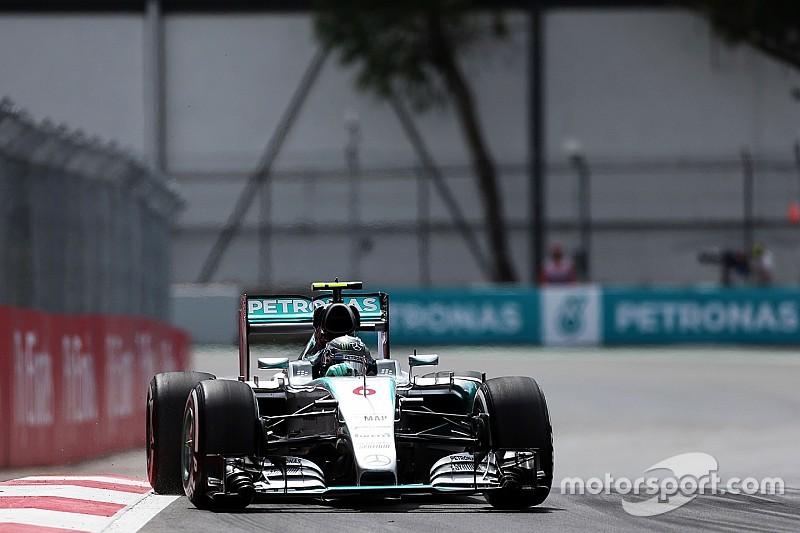 EL2 - Mercedes et Red Bull dominent, Verstappen et Bottas dans le mur