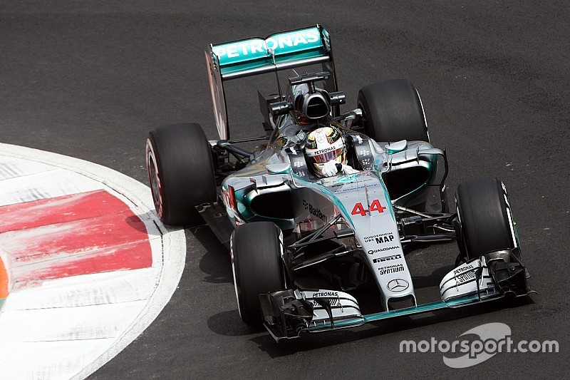 """Hamilton says Mexican GP track is """"crazy"""" slippery"""