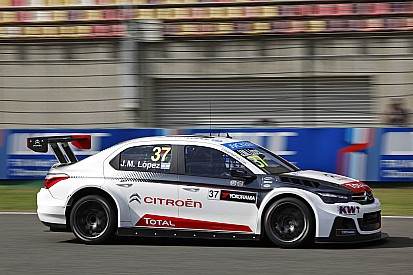 Thailand WTCC: Lopez tops red-flagged FP1