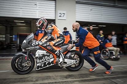 В KTM провели обкатку мотоцикла MotoGP
