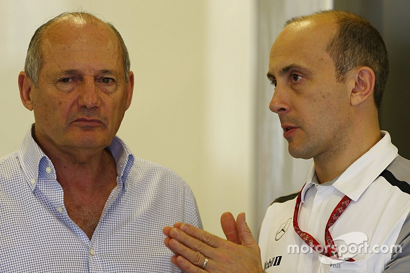 McLaren chief engineer Phil Prew jumps ship to Mercedes