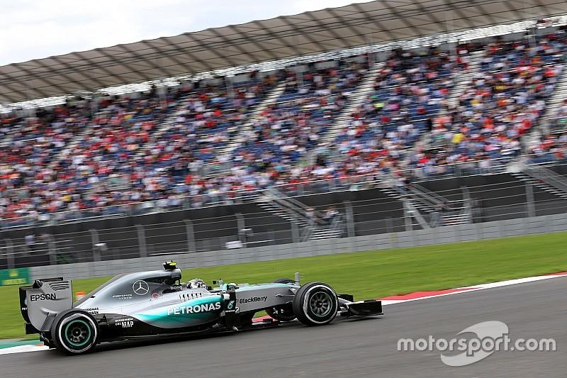 墨西哥大奖赛 FP3:罗斯伯格继续占据第一 莱科宁遇引擎故障