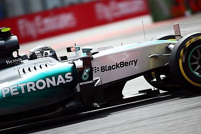 GP du Mexique - La grille de départ