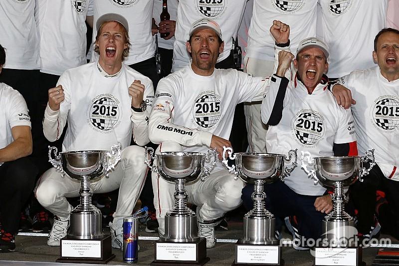 """Webber - Le titre est un """"accomplissement incroyable"""" pour Porsche"""
