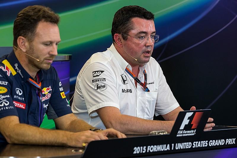 McLaren justifie son veto contre l'accord Red Bull-Honda