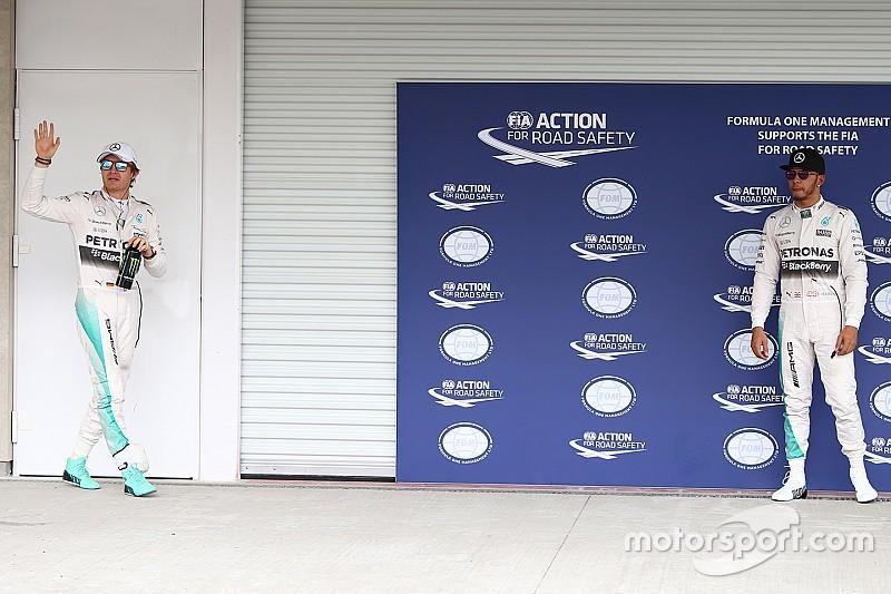Mercedes - Pas de pacte entre Rosberg et Hamilton avant le départ