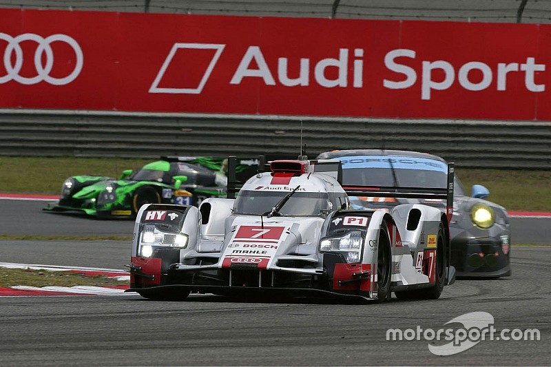 Audi keeps title race open for WEC finale