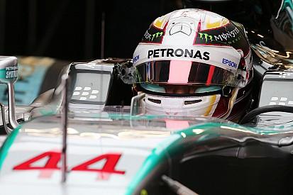"""Hamilton - """"Nico a fait une course fantastique"""""""