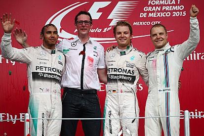 GP Mexiko: Nico Rosberg führt Mercedes-Doppelsieg an