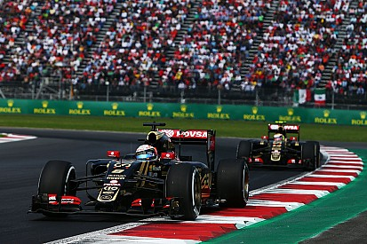 Mexican GP: Grosjean and Maldonado took the chequered flag just 0.6 seconds apart