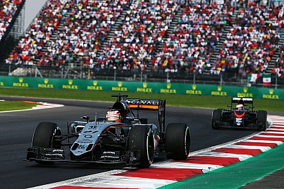 Sahara Force India scored ten points in today's Mexican GP