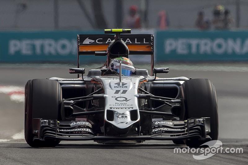 """Perez: """"Strategia sbagliata durante la Safety Car"""""""