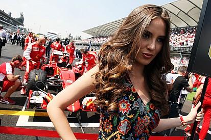 Fotos do GP do México: grid girls, Rosberg e histeria dos fãs
